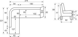Размери Холов Ъгъл Модел 28
